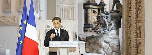 Grand Paris: Nicolas Sarkozy réaffirme sa détermination