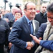Hollande, le favori prêt à riposter