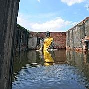 Bangkok et ses trésors menacés par les eaux