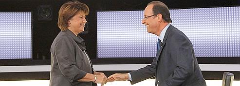 Aubry-Hollande, statu quo après le dernier débat<br/>