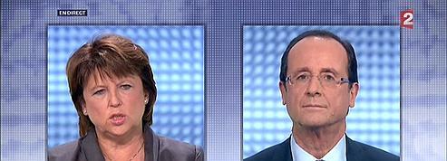 Hollande-Aubry, un débat feutré malgré des tensions<br/>