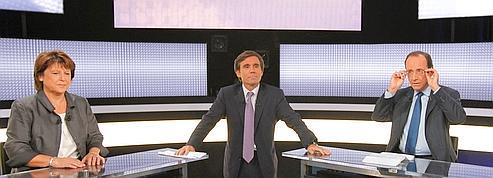 Hollande-Aubry, le débat minute par minute