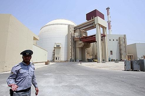 Le réacteur nucléaire de Bouchehr en 2010, sur les rives du golfe Persique, à quelque 1000 kilomètres au sud de Téhéran.