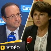 Hollande et Aubry se lancent des piques