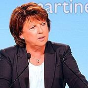 Aubry dénonce le «flou» de Hollande