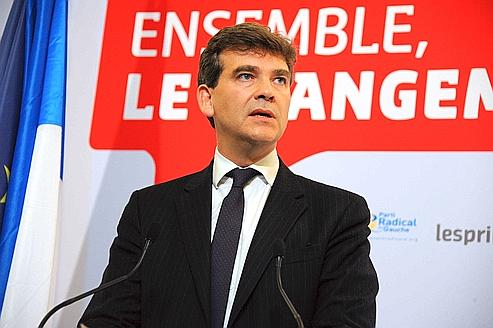 Arnaud Montebourg, le 9 octobre dernier.