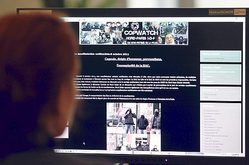 L'accès au site «copwatchnord-idf» va être impossible depuis la France.