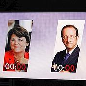 Journée de trêve entre Aubry et Hollande