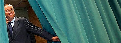 François Hollande, le candidat qui revient de loin<br/>
