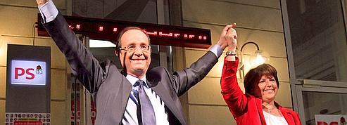 Après sa «large» victoire, Hollande veut rassembler la gauche et le centre