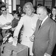 Présidentielle 1969 : Pompidou en tête avec 44%