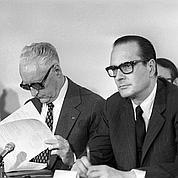 Présidentielle 1974 : Chirac veut l'unité