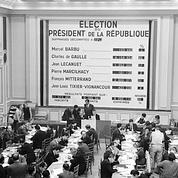 Présidentielle 1965 : de Gaulle en tête