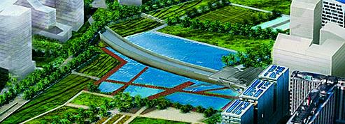 Une voie ferrée va balafrer le nouveau parc des Batignolles