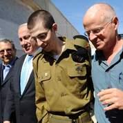 Gilad Shalit est de retour dans son village