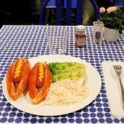 Les hot-dogs font leur show