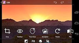 Android gagne des fonctions d'édition des photos.