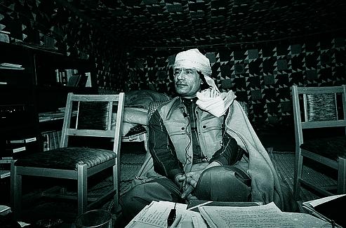 Kadhafi en 1986.