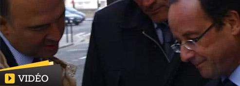 François Hollande propulsé au coeur de la mêlée politique