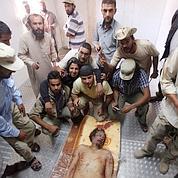 Misrata fête la mort de Mouammar Kadhafi