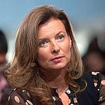 Valérie Trierweiler, samedi, au premier rang lors de l'investiture de François Hollande.