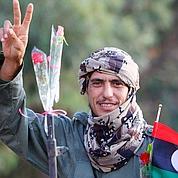 Le jour de la libération en Libye