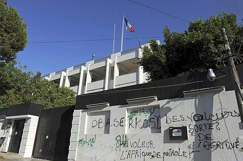 La police française reprend du service à Tripoli