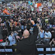 Du Caire à New York, le pouvoir des foules