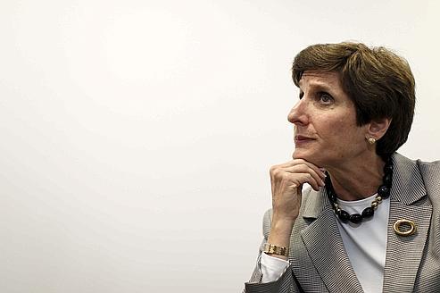 Irene Rosenfeld, PDG du numéro deux mondial de l'agroalimentaire.