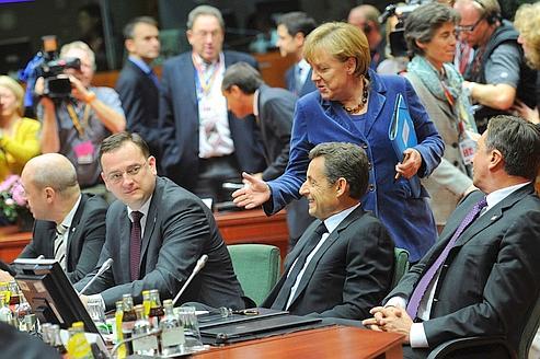 Une longue nuit pour sauver la zone euro