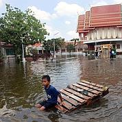 Ils ont fui Bangkok, promis à la noyade