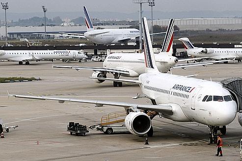 Air France s'installe dans la grève