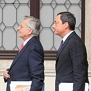 BCE : Draghi succède à Trichet dans la tempête
