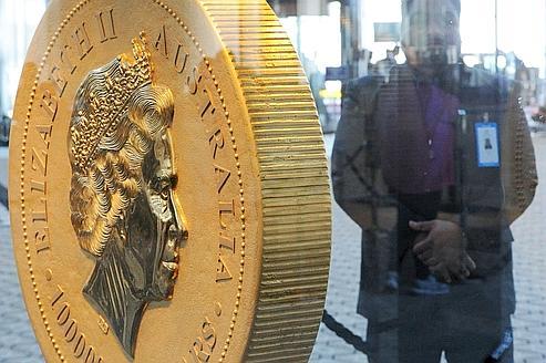L'Australie s'offre la plus grosse pièce d'or du monde