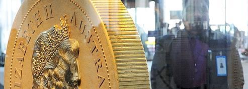 L'Australie s'offre la plus grosse pièce d'or du monde<br/>