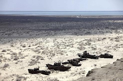 Le Kazakhstan veut faire revivre la mer d'Aral
