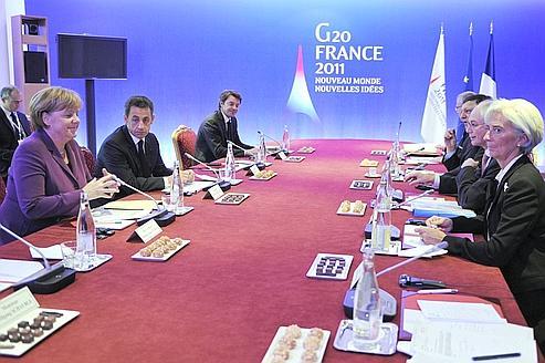 Le sommet du G20 à Cannes dans la tourmente mondiale