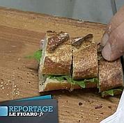 François Simon fait son sandwich chez Colette
