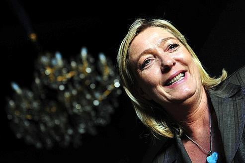 41% des artisans et commerçants se disent prêts à voter pour Marine Le Pen au premier tour de la présidentielle.