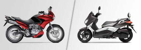 Scooter ou Moto 125 cm³: quel deux-roues choisir?