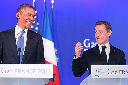Obama-Sarkozy: les dessous de leur interview aux JT