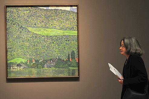 Klimt, vainqueur de New York