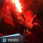 Les pompiers crient leur colère à Paris