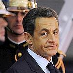 Nicolas Sarkoy mercredi avant l'ouverture du G20, à Cannes.