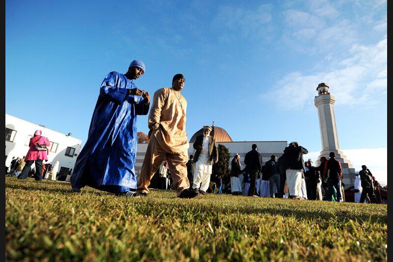 L'Aïd el-Kebir a aussi été fêté aux États-Unis, ici à Silver Spring, dans le Maryland.