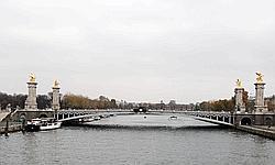 Le pont Alexandre-III.