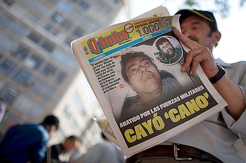 La mort de Canorenforce le président colombien