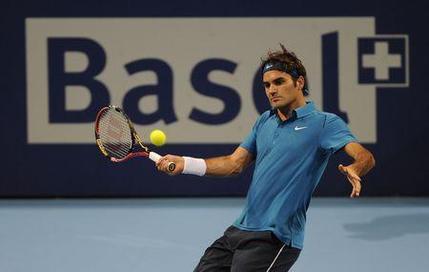 Federer comme à la maison