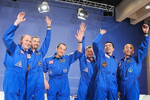 Journal de bord du voyage virtuel Mars500