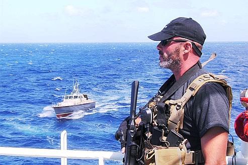 Les privés en guerre contre les pirates